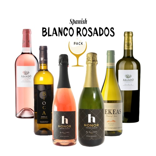 Spanish Blanco Rosados (mixed case)